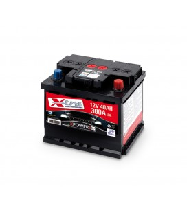 Battery Auto - Accumulator 12V 40 AH X-TRA ready to the use