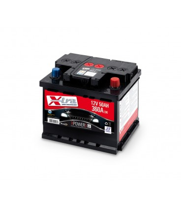 Battery Auto - Accumulator 12V 50 AH X-TRA ready to the use
