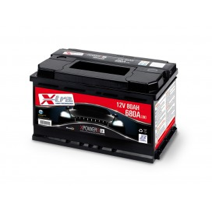 Batterie de voiture - 12V 80 AH Battery X-TRA