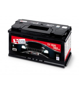 Batteria Auto - Accumulatore 12V 100 AH X-TRA pronta all'uso
