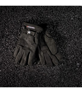 """""""SAVE"""" suede gloves Size M"""