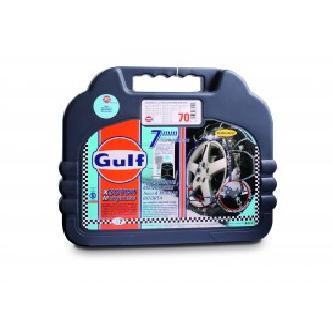 """Cadenas de nieve mis. 80 GULF premium 7 mm """"G7"""" con malla trenzada"""