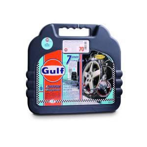 """Catene da neve mis. 130 GULF premium 7 mm """"X7"""" a maglia ritorta"""