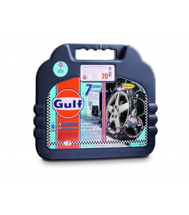 "Snow chains mis. 130 GULF premium 7 mm ""G7"" with twisted mesh"