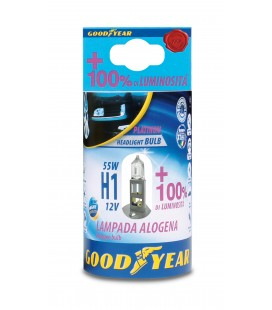 H1 Halogen Lamp 12V 55W + 100% Brightness