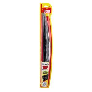2 Spazzole Tergicristallo Universali Metalliche 330 mm TOP