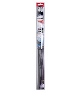 Single wiper blade in graphite 600 MM