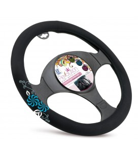 "Steering wheel cover ""MY FLOWER SWIVEL"""