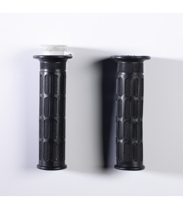 """Universal scooter handgrips """"OVER"""" sx 22 mm dx 25 mm"""