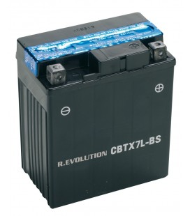"Specific battery for motorcycles ""MAX POWER"" 12V 7Ah"