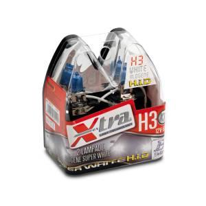 Extremly powerful white light 12V H3 55 W X-TRA
