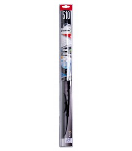 Single wiper blade in graphite 510 MM