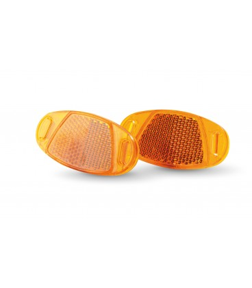 Luxury reflectors for biycle wheels