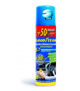 250 ML DASHBOARD POLISHER - OCEAN - GLOSSY EFFECT