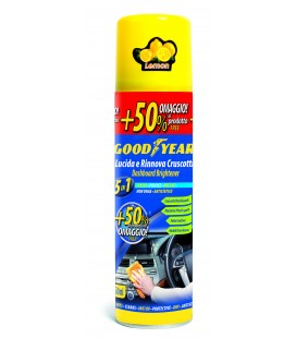 250 ML DASHBOARD POLISHER - LEMON - GLOSSY EFFECT