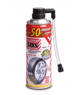 S.O.S Tyre repair inflates ad reapirs for emergencies 450 ML