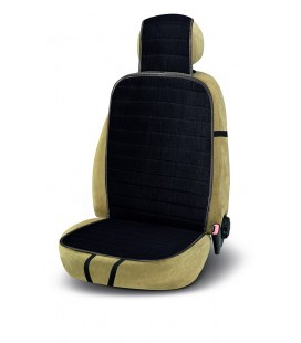 "Natural black Flax fiber seat cushion ""Waikiki"""
