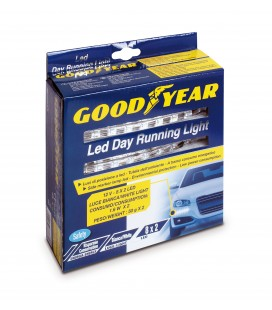 "Goodyear ""Led day running light professional"" luci diurne 8 led"