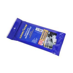 20 Salviette auto trattamento pelle GULF