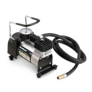 """Compressore portatile da auto con manometro """"BIG-TIRE"""" 140 PSI"""
