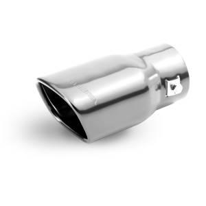 """Terminale Marmitta per auto in Alluminio """"PIPE"""" diametro 60 mm"""