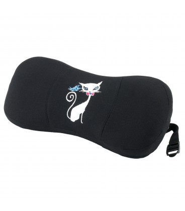 Blue cervical support My Cat