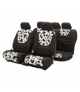 Cow seat cover set