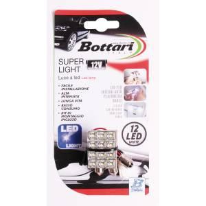 """""""Super Light"""" 12 white led lught"""