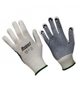 Working gloves nylon/pvc