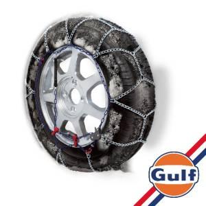 """Catene da neve GULF premium 7 mm """"G7"""" a maglia ritorta mis. 65 - Coppia"""
