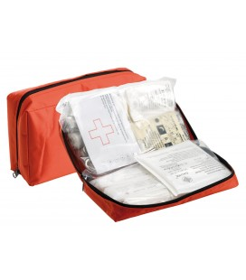 Soft First Aid Kit with zip and velcro Approved DIN 13164