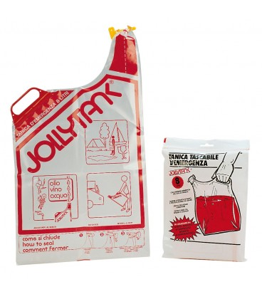 """JOLLY TANK"" soft-packed emergency jerrycan 8 liters Packaged"