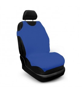 """Front seat cover """"Sunny""""t-shirt Blue"""