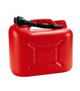 Fuel can with 20 liters spout homologated