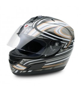 Casco moto integrale Dragon XL argento