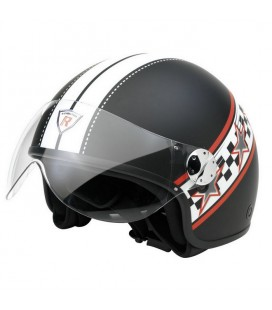 Casco moto jet RS2 nero XL