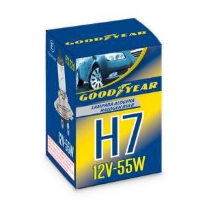 Lampada alogena Singola H7 12V-55W PX 22d Goodyear