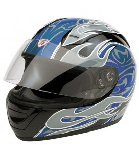 Casco integrale Extreme blu XL