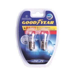 Lampade auto Goodyear a 1 luce per segnalatori frecce 12V BA15S 21W - Coppia