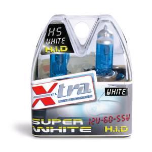 SET 2 PZ LAMPADE SUPER WHITE 12V H7 55 W X-TRA