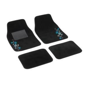 "4 pcs textile car mats ""MY STAR"""
