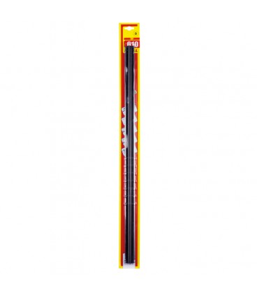 Refill for wiper blades with graphite rubber 610 mm