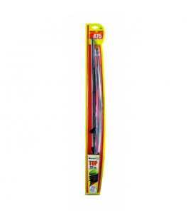 Windshield wiper blade with graphite rubber 475 mm