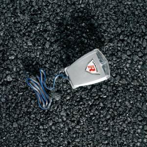 Proiettore luminoso per moto SHINE, rosso e blu