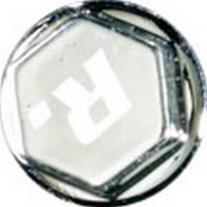 Copridadi anodizzati FORCE 8, cromato 8mm