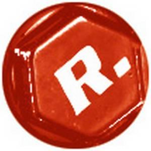Copridadi anodizzati FORCE 8, rosso 8mm