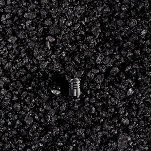 Aluminum valve cover CRISTAL, black