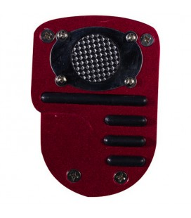 Anti-slip pedal board for motorcycles START, red
