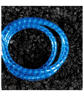 Motorcycle decorative wire cover YORK, blue