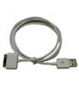 IPod cable for connection to devices with USB input